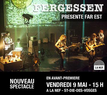 FERGESSEN - LA NEF - Invitation 9 mai