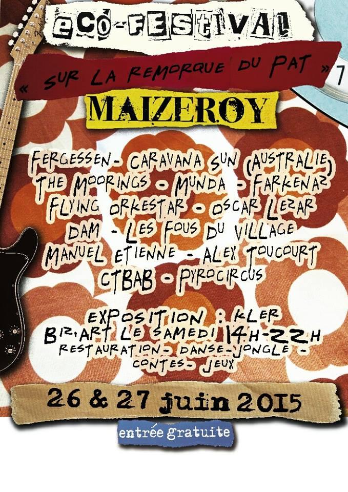 """MAIZEROY (57) - FESTIVAL """"SUR LA REMORQUE DU PAT"""""""