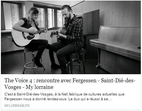 Article My Lorraine - Février 2015