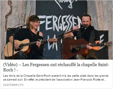 Article Saint-Dié Infos