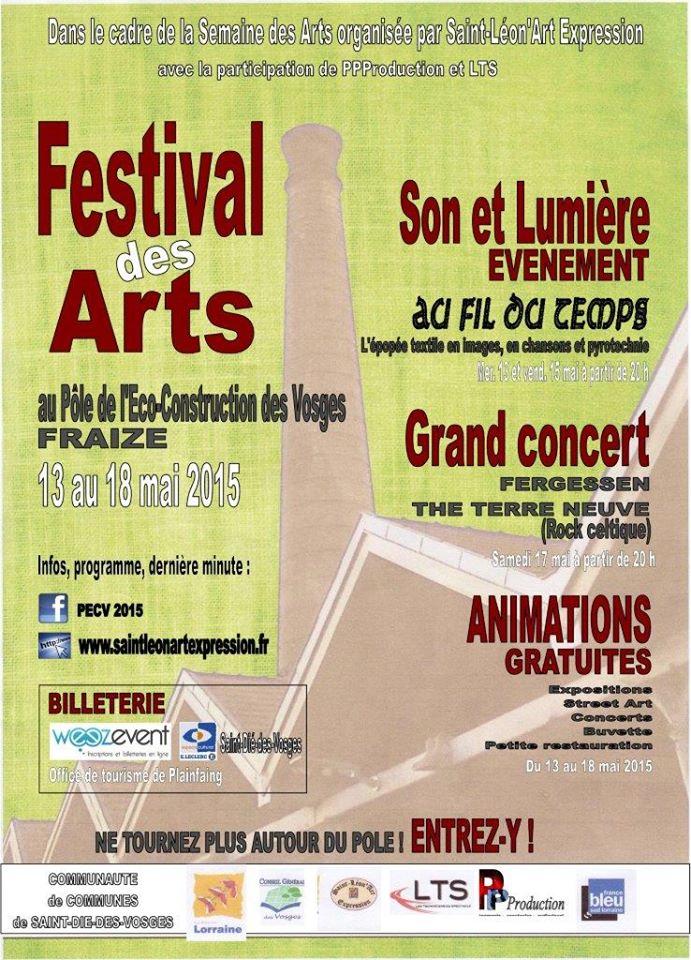 FRAIZE (88) - FESTIVAL DES ARTS