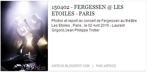 ARTEOS - Les Etoiles - Live Report